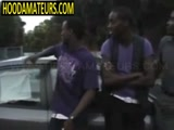 nice black girl fuck by three dudes