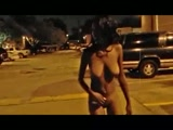 hood hoe naked in public