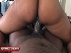 Creamy ride on daddy dick